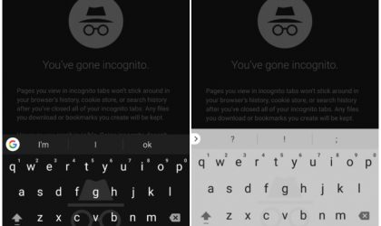 Google extends incognito mode to Gboard in Android O