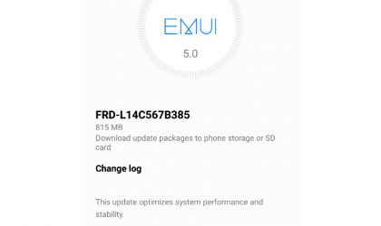 Huawei Honor 8 OTA update rolling out in US with April security patch and system improvements, build B385