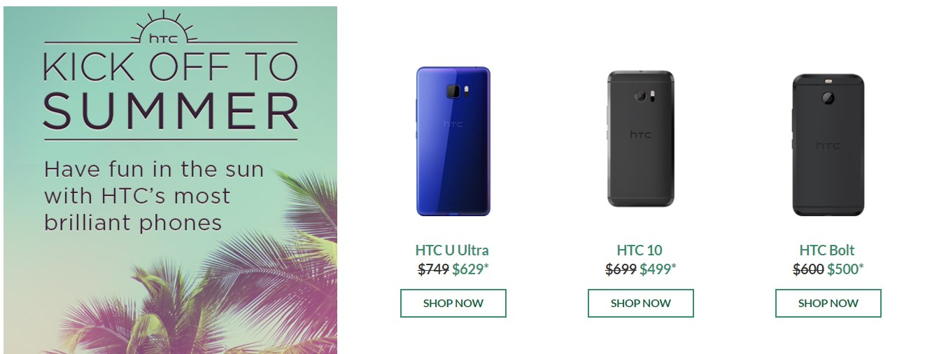 Save $$$ at HTC with coupons and deals like: Free adapter + Free ground Shipping with U12+ Purchase ~ Save $ Off Select Smartphones + Free Shipping ~ 25% off Select Accessories with Any Phone Order + Free Shipping ~ Fall into Savings: Up to $ Off Hot Deals ~ and more >>>.