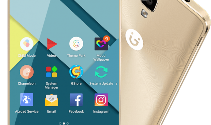 Gionee P7 receives new OTA update that adds ViLTE support for video calls on 4G networks