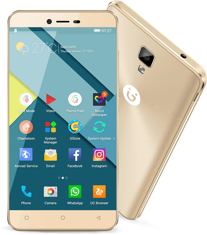 Gionee P7 receives new OTA update that adds ViLTE support