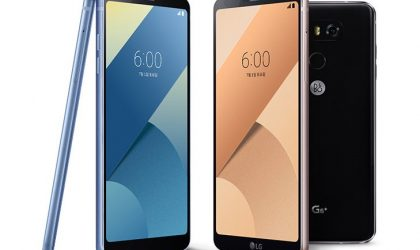 LG G6+ and G6 32GB with LG Pay launched in South Korea
