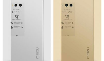 Meizu Pro 7 images leak again, shows how secondary display could look like