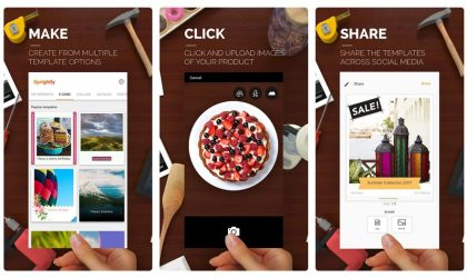 Sprightly by Microsoft brings new design, layouts and text stickers