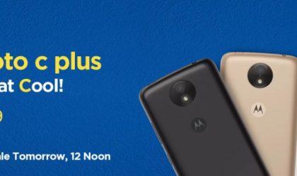 Motorola Moto C Plus launched in India for INR 6,999