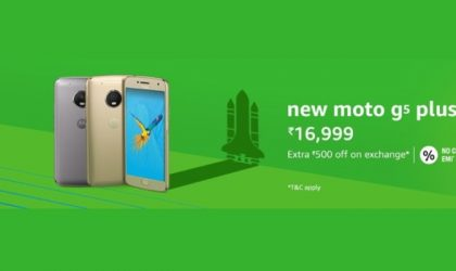 Now you can buy Moto G5 Plus at Amazon (India) too