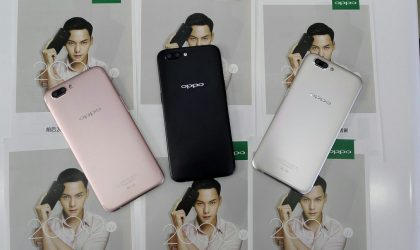 Here's another look at Oppo R11 in Pink, Black and Gold color