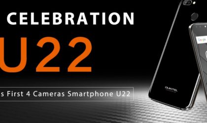 Oukitel U22 goes official with dual camera on both front and rear