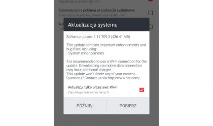 HTC U11 update rolling out in Poland with system enhancements, software version 1.11.709.3