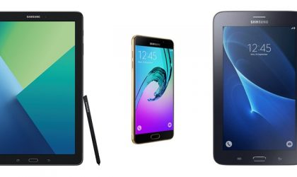 Galaxy A5 2016, Tab A 2016 (with S Pen) and Tab Iris receiving OTA update with June security patch