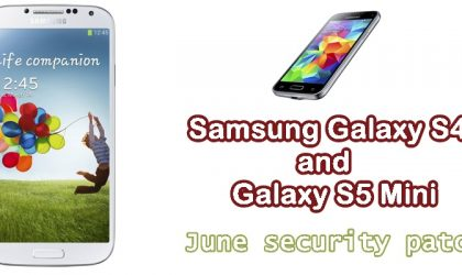 Galaxy S4 and Galaxy S5 mini also receiving OTA update with June security patch