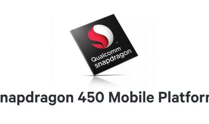 Qualcomm releases new Snapdragon 450 chipset for mid-range devices