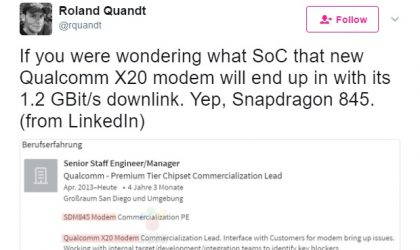 Some details on Snapdragon 845 processor leaked out!