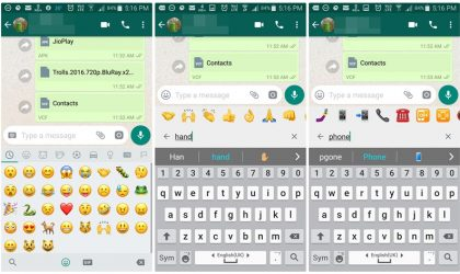 WhatsApp finally introduces Emoji search feature