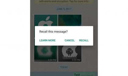 Here's how you can recall a WhatsApp message once the feature is live