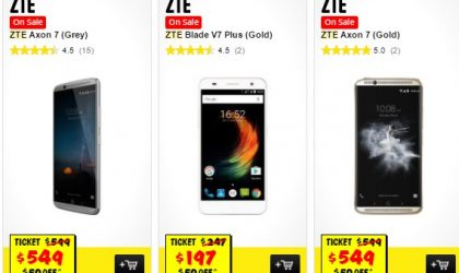 [Deal] Get AUD 50 discount on three ZTE devices including ZTE AXON 7 in Australia