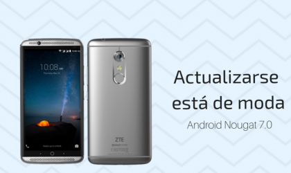 ZTE Axon 7 now receiving Android 7.0 Nougat update in Spain