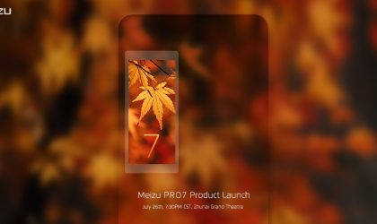 Latest Meizu Pro 7 teaser image confirms secondary display on the back
