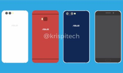 This is how upcoming Asus ZenFone 4 phones could look like