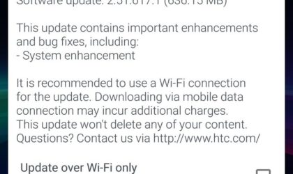 Unlocked HTC 10 receiving July security patch in USA right now