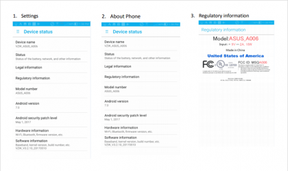 Verizon exclusive Asus ZenFone 4V gets certified by FCC