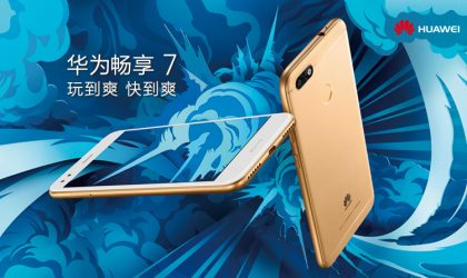 Huawei Enjoy 7 launched in China for ¥1099 ($162)