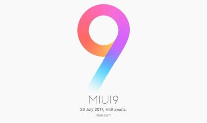 Next batch of MIUI 9 update to include Mi 5, Mi Mix and Mi Note 2