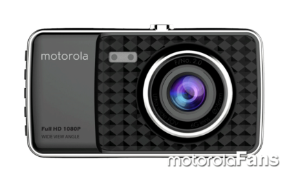 Motorola to launch a new camera for cars with 4″ screen and 1080p video recording