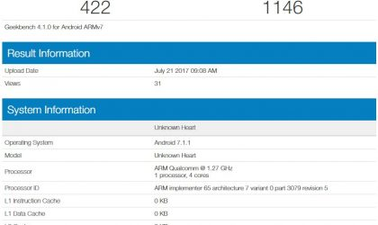 Alleged Nokia 2 specs revealed via GeekBench listing