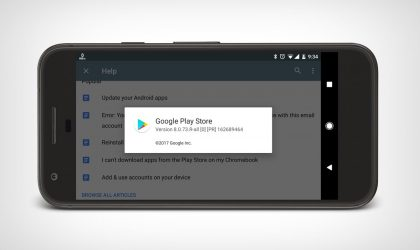 New Play Store apk available for download with version 8.0.73