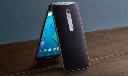 Motorola Moto X Style Android Nougat update is rolling out in India