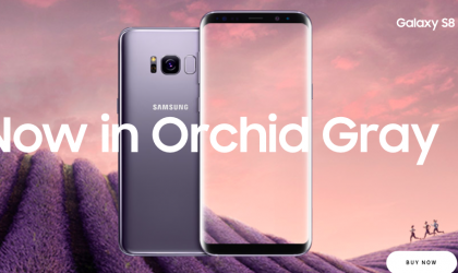 Samsung launches Orchid Gray color of Galaxy S8 and S8 Plus in India