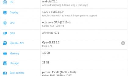 Samsung Galaxy A7 2018 specs (SM-A730x) revealed already?