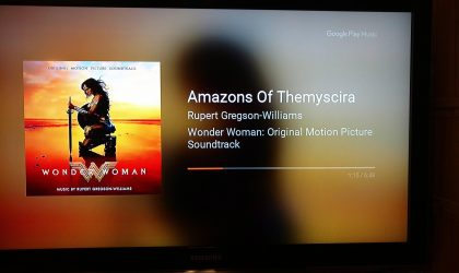 Google Play Music gets new interface for music streaming on Chromecast