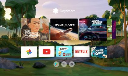 Daydream app update brings redesigned home and controller button highlight in VR