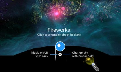 Shoot Fireworks! VR is a nice VR to pass time shooting fireworks in the sky