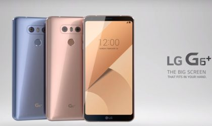 LG posts first LG G6+ promotional video