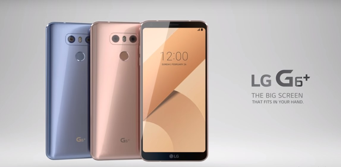 lg posts first lg g6 promotional video