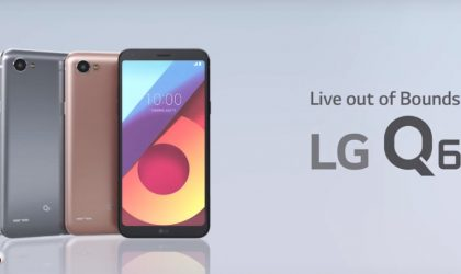 New LG Q6 promotional video details all cool features of the device