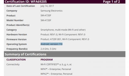 Samsung Nougat update for Galaxy A7 2017 and A5 2017 coming soon