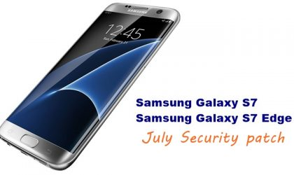 Samsung pushes an update to Galaxy S7 and S7 Edge with July security patch [Download]