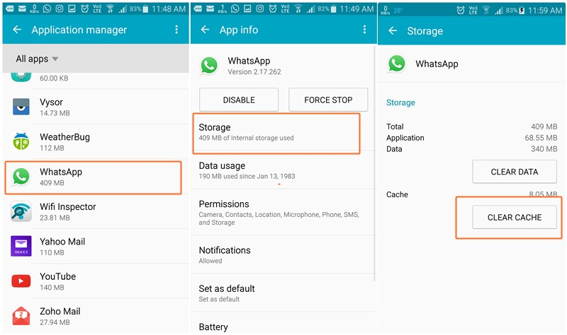 android clear cache 28 images android customization how to regain storage space by how to