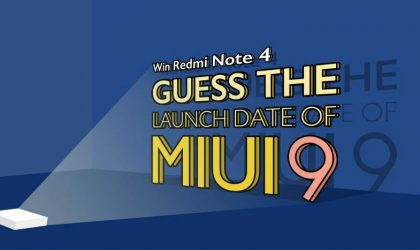 Guess MIUI 9 launch date and win Redmi Note 4 from Xiaomi