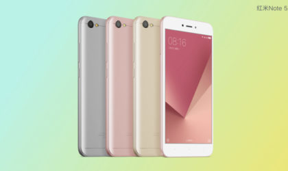 Xiaomi Redmi Note 5A and Note 5A Prime are official now