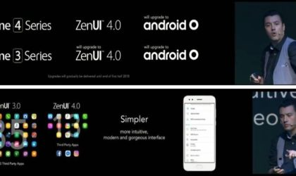 Android O update confirmed for Asus ZenFone 3 and ZenFone 4 series