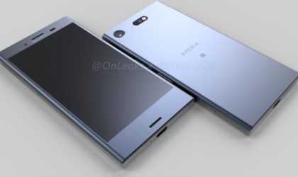 Sony Xperia XZ1 Compact renders leak out