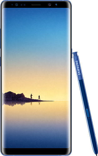 Galaxy Note 8 deep sea blue colour leaks
