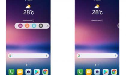 LG teases new features for V30, including floating action bar and voice unlock