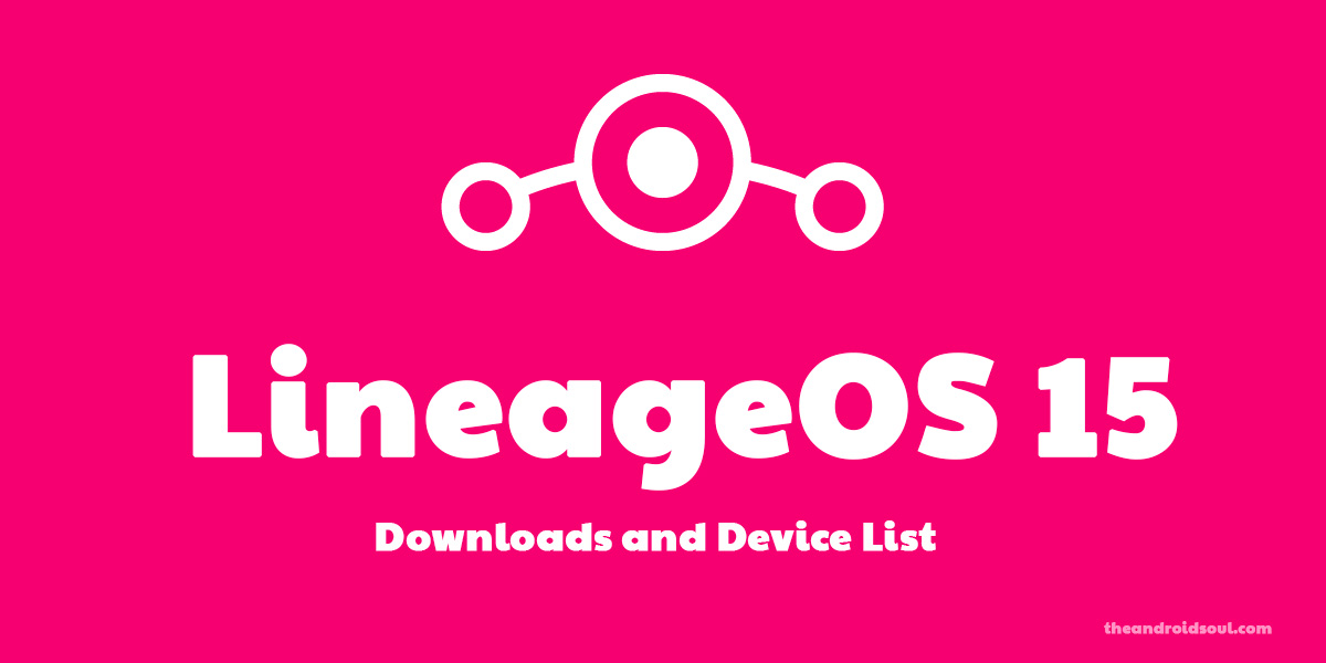 LineageOS 15 release date