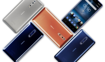 Nokia 8 flagship officially unveiled with impressive specs & outdated design, priced at €599